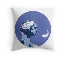 """Swan Queen"" Throw Pillow"