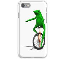 DAT BOI FROG MEME INTERNET PEPE RARE iPhone Case/Skin