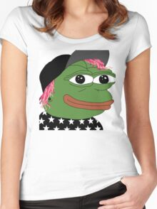 Josh pepe Women's Fitted Scoop T-Shirt