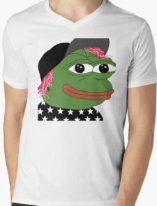 Josh pepe Mens V-Neck T-Shirt