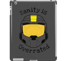 Sanity is Overrated iPad Case/Skin