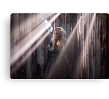 Clarke Griffin - Season 3 - Poster Canvas Print