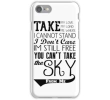 Firefly Theme song quote iPhone Case/Skin