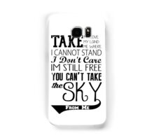 Firefly Theme song quote Samsung Galaxy Case/Skin
