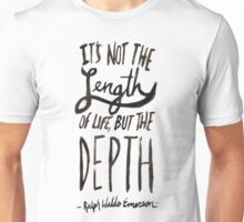 Ralph Waldo Emerson Unisex T-Shirt