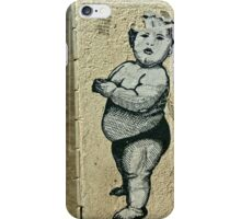 Graffiti Wall Arts. Seen in Germany. iPhone Case/Skin