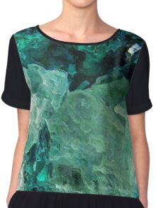 Mountain Ice Women's Chiffon Top