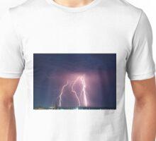 Lightning Over St Pats. Unisex T-Shirt