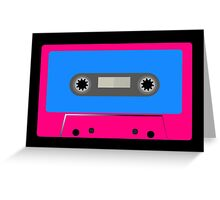 Retro Vintage Cassette Tape - Cool Pop Music T Shirt Prints Stickers Greeting Card