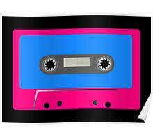 Retro Vintage Cassette Tape - Cool Pop Music T Shirt Prints Stickers Poster