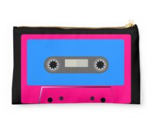 Retro Vintage Cassette Tape - Cool Pop Music T Shirt Prints Stickers Studio Pouch