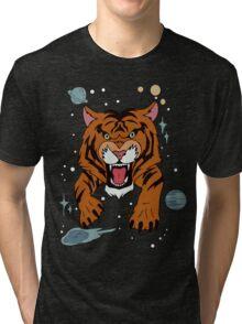 We Bare Bears Jean Jacket  Tri-blend T-Shirt