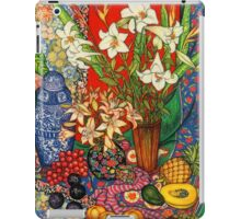 Lilies, Heliconias & Tropical Fruit iPad Case/Skin
