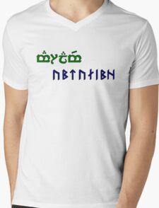 Amralime Mens V-Neck T-Shirt