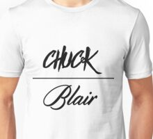Chuck & Blair Gossip Girl Design Unisex T-Shirt