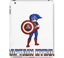 Captain Hyrule iPad Case/Skin