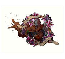 Chosen Undead Art Print