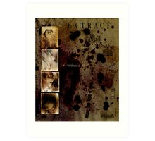 Altered, Terror Faces/Cut To Pieces Art Print