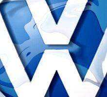 VW look-a-like logo  Sticker