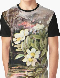 Southern wild flowers and trees together with shrubs vines Alice Lounsberry 1901 107 Loblolly Bay Graphic T-Shirt