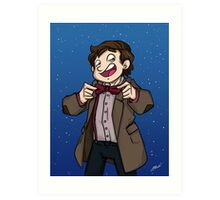Doctor Who - Eleventh Doctor Art Print