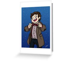 Doctor Who - Eleventh Doctor Greeting Card