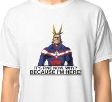 All Might anime manga shirt Classic T-Shirt