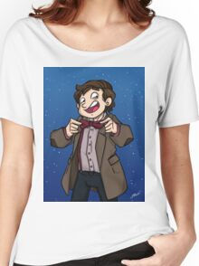Doctor Who - Eleventh Doctor Women's Relaxed Fit T-Shirt