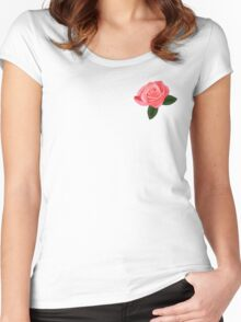 Rose leggings and other merch Women's Fitted Scoop T-Shirt