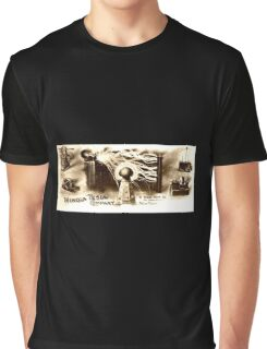 Vintage Tesla Illustration Graphic T-Shirt