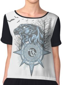 Design Elite Eagle Chiffon Top