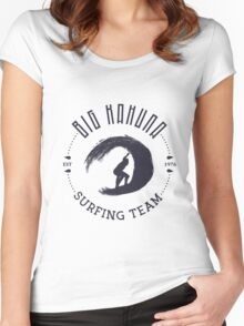 Big Kahuna Surfing Team Women's Fitted Scoop T-Shirt