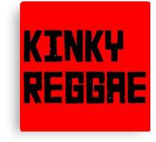 Kinky Reggae Canvas Print