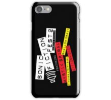 Sonic Fiction Fest 2: Eclectic Boogaloo iPhone Case/Skin