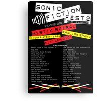 Sonic Fiction Fest 2: Eclectic Boogaloo Metal Print