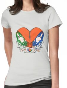 Clementine's Heart Womens Fitted T-Shirt