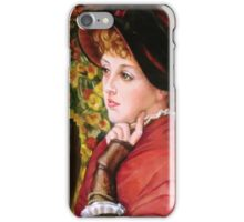 Type of Beauty after James Jacques Joseph Tissot iPhone Case/Skin