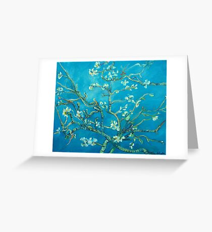 Almond blossoms  Vincent Van Gogh Greeting Card