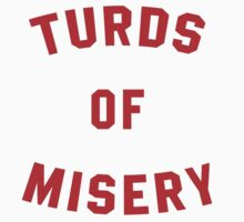 Turds of Misery - Breathable design Kids Tee