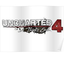 **Uncharted 4 A thief's end** Poster