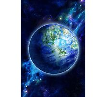 Beautiful Earth is in space Photographic Print