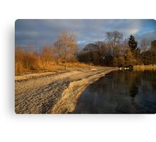 Early Light on the Beach Canvas Print