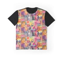 Cats galore Graphic T-Shirt