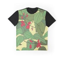Scarlet runner beans pattern 2 Graphic T-Shirt