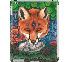 Undergrowth - Red Fox iPad Case/Skin