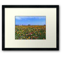 Flowerscape Framed Print