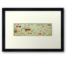 Black Pudding Framed Print