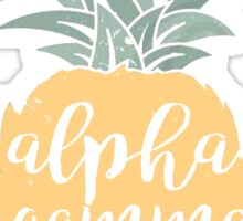 AGD Pineapple Sticker