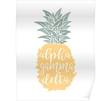 AGD Pineapple Poster