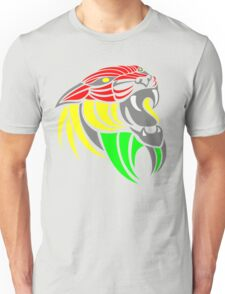 Reggae Music Cool Lion Reggae Colors T Shirts and Stickers T-Shirt